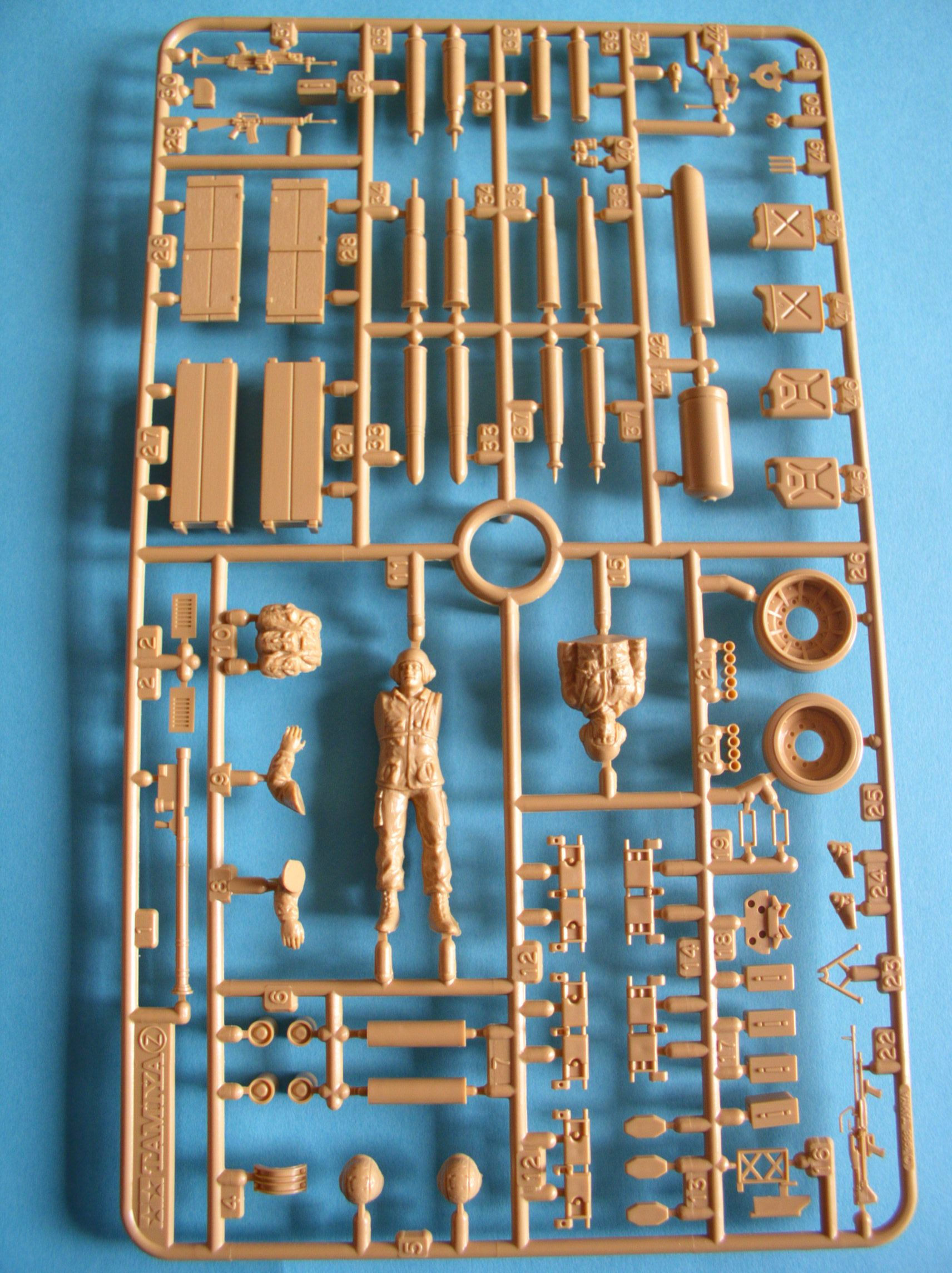 Review Kit US Modern Elite Infantry w/Accessory set 1/35 (Limited edition) 48954077