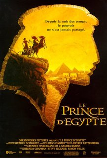 Le Prince d'Egypte Egypter