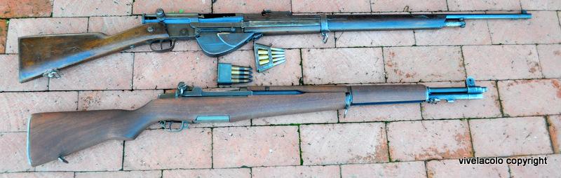 RSC 1917  et   Garand  Dsc0561w