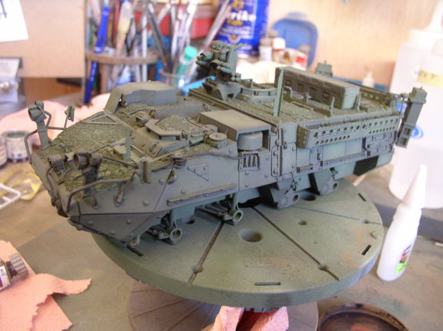 Stryker 1132 mine roller 1/35 Trumpeter Dio terminé - Page 2 72529237