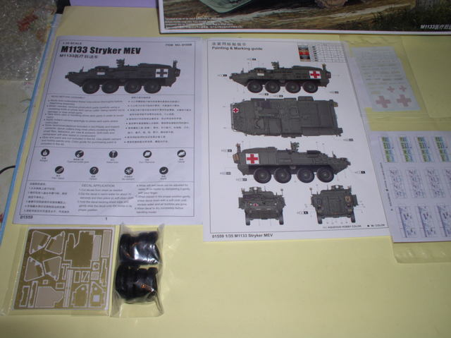 Review Kit Stryker 1133 MEV Trumpeter 1/35 P9160006