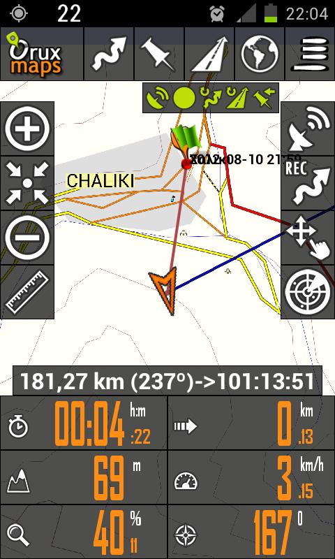 Οrux Maps και Orux Maps 3D beta Navoj
