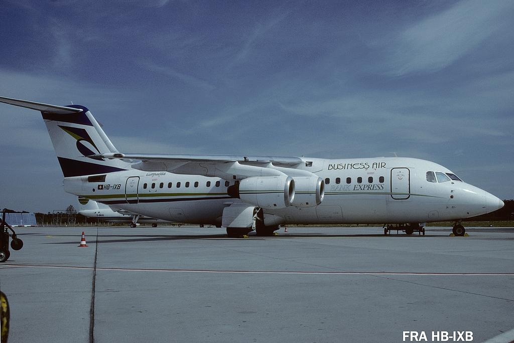 British built Jets in FRA 2frahbixb