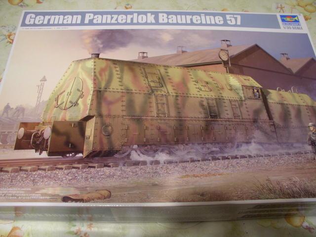 Review Kit German Panzerlok Baureine 57 Trumpeter 1/35 Pa300001