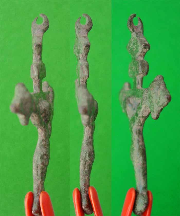 Crucifijo gotico tardio S-XV ,  CC-024* Cc024b