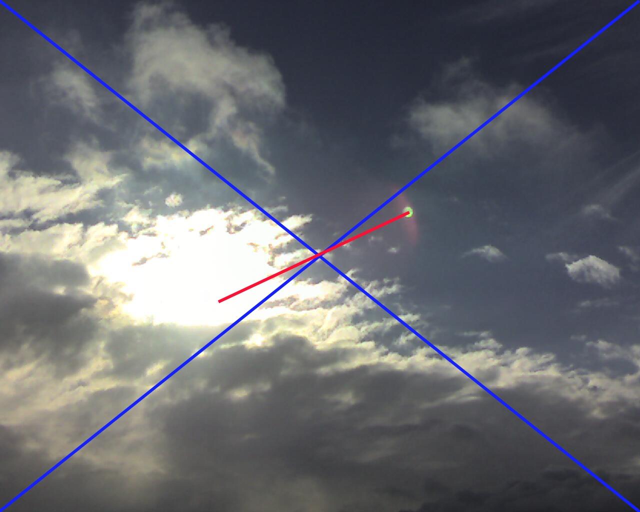 2010: le 17/12 à 13h - observation d'une boule de feu - Meuse  - Page 4 Num113h0317dec10flare