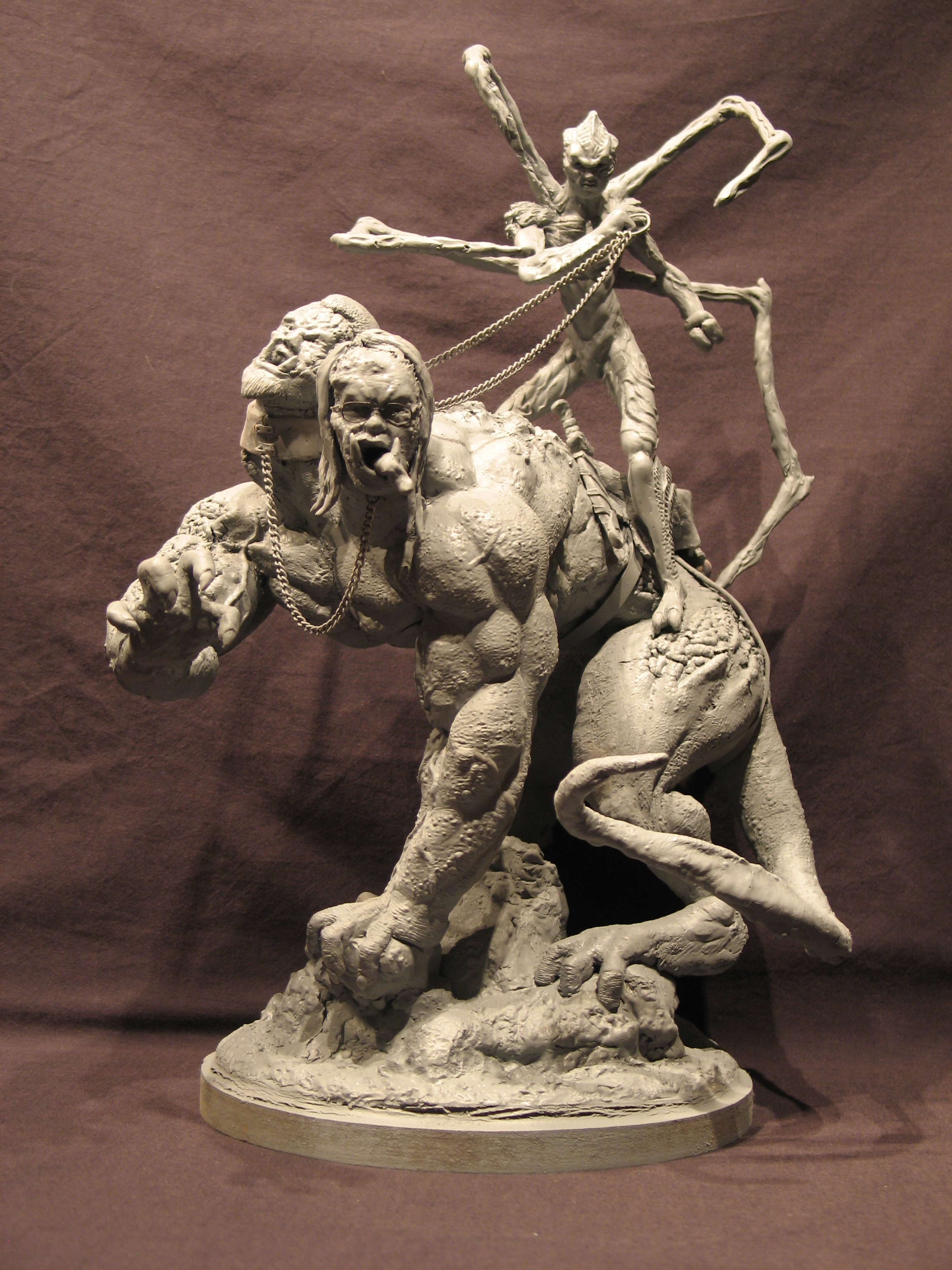 Spiderzero Riding the Shiflett Monster (Concours Shiflett 2) S129