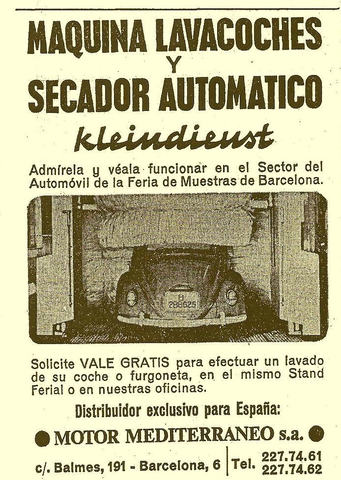 recortes viejos referentes a VW y a los Aircooled's...  1967escarabajoenpublici