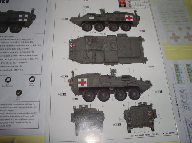 Review Kit Stryker 1133 MEV Trumpeter 1/35 P9160007