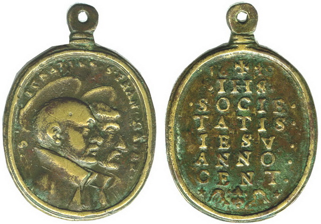 S. Ignacio de Loyola, S. Francisco Javier- Centenario 1640, S. XVII  Rd4d