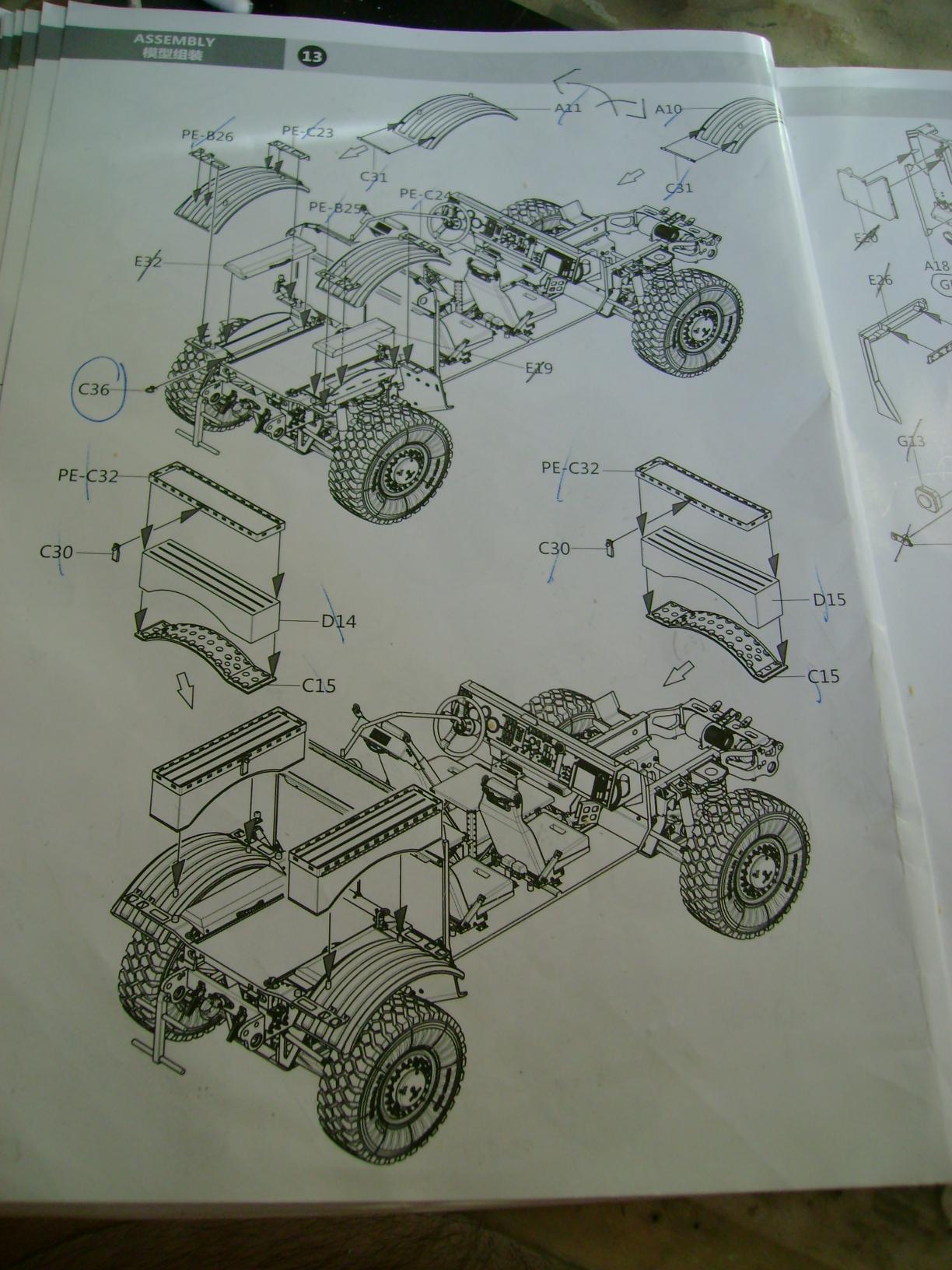 M-ATV Oshkosh....Kit Panda 1/35...Projet terminer !!!!!!!!!! ENFIN !!!!!!!!! - Page 2 765qe