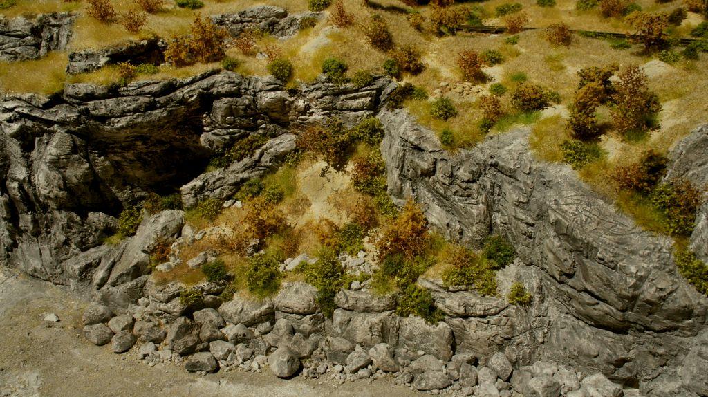 Black-Rock Canyon Felsenoblitz