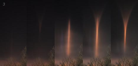 Piliers de lumière (Light pillars) Lp7