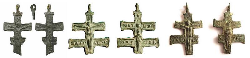 Cruz de caravaca ff S-XVII-pp S-XVIII ,  CC-029 Finalyy