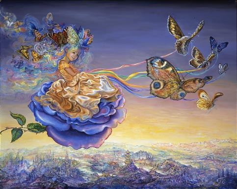 Josephine Wall Butterflyprincess