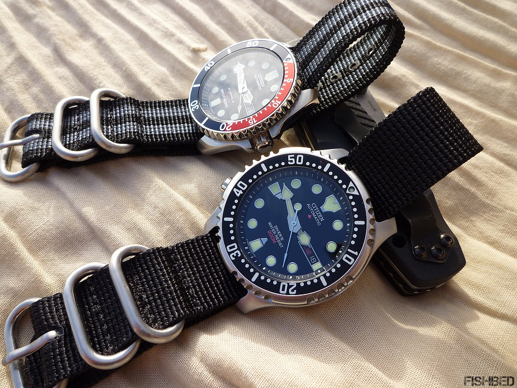 Plongeuses automatiques Citizen Citizendivers02