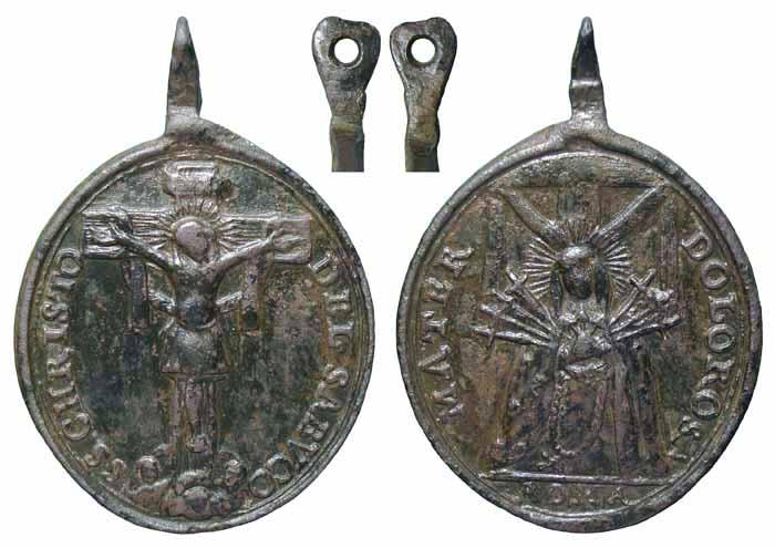 Santísimo Cristo del Sahúco / Mater Dolorosa, S. XVIII Mr248a
