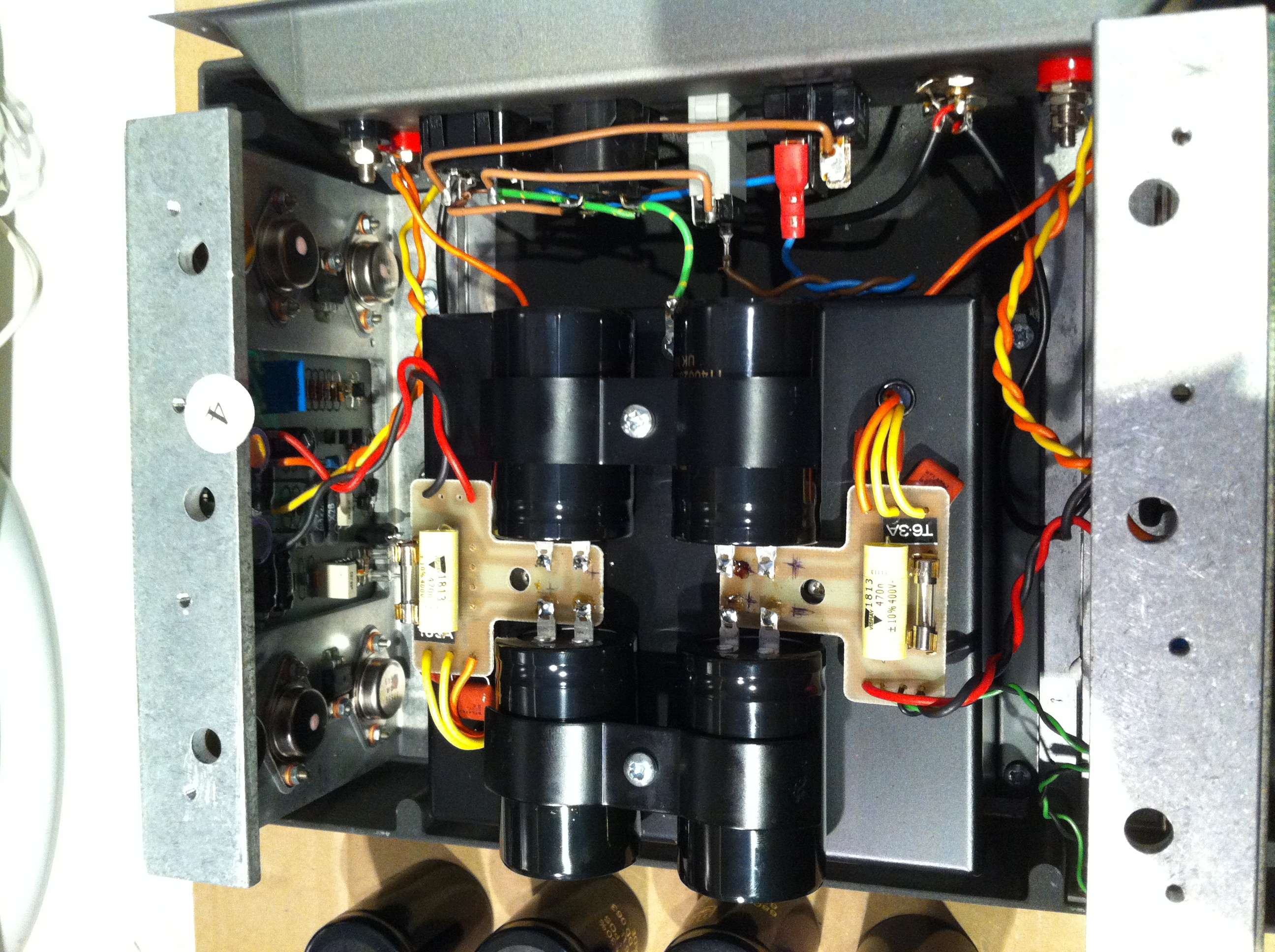 Etapa Quad 606. Revisión/Reparación fuente alimentación. Img1493dp
