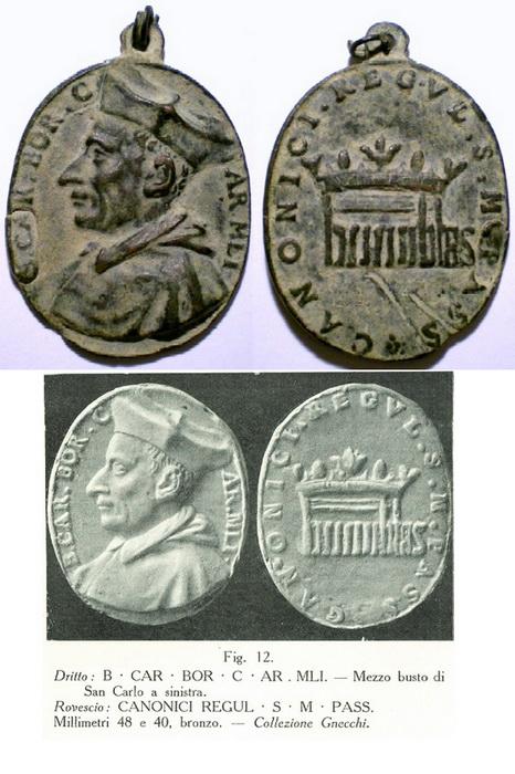 humilitas - S. Carlos Borromeo / Humilitas,  S.XVII (R.M. SXVII-O171 ) Cbcannigosregulares