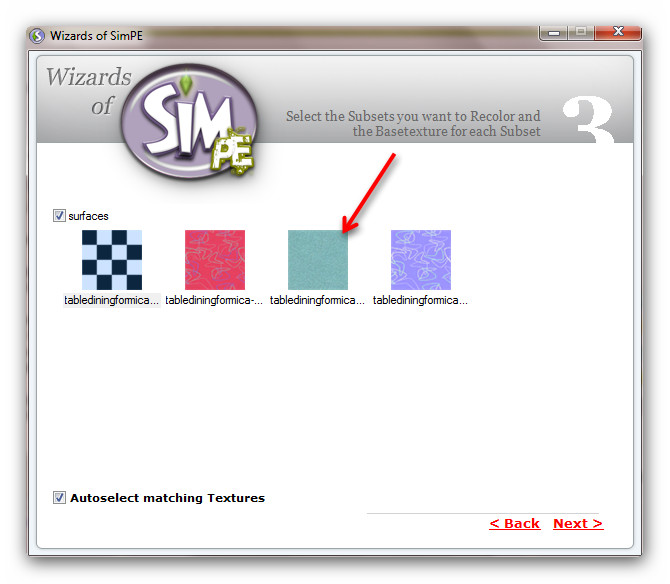 Re-Colouring Objects Using Wizards of SimPE & Gimp 98948659
