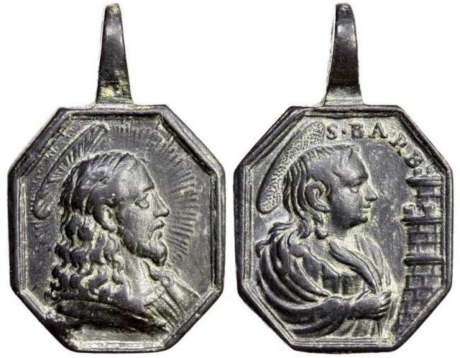 Recopilación medallas con el Rostro de Cristo ( Salvator Mvndi II) X7cs