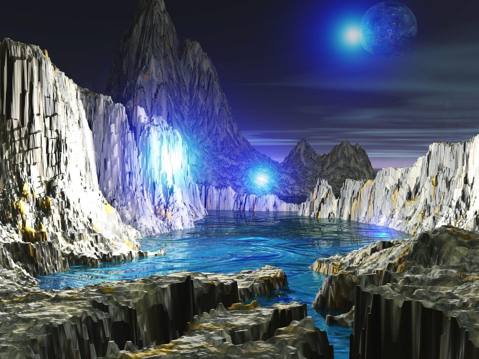 Hình 3D Bluemoong