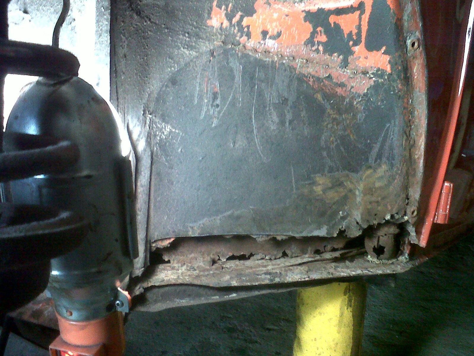 """preciso consejo.  Reparar  chasis """"con"""" o """"sin"""" carroceria... 201111012"""