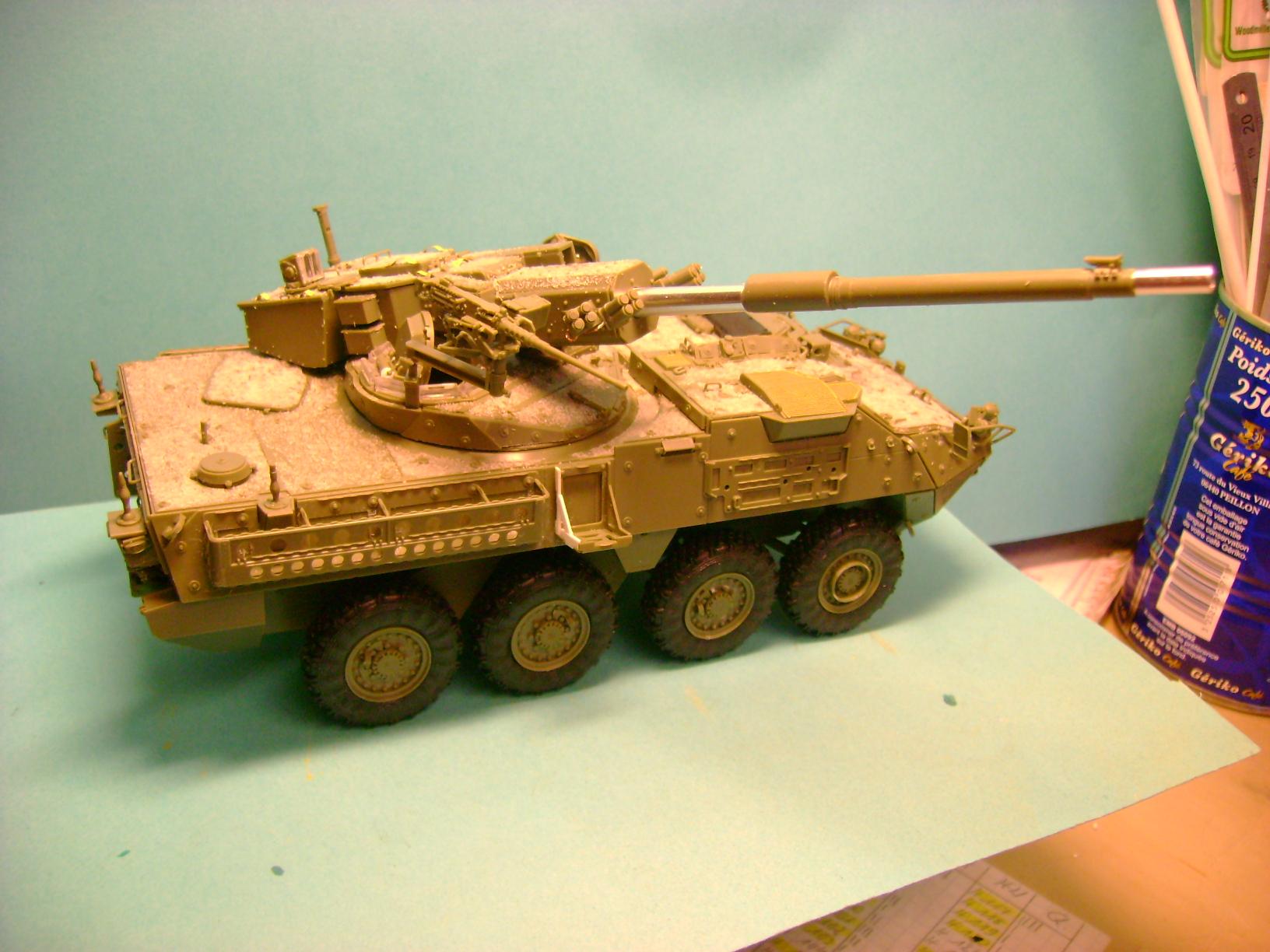Stryker M1128 MGS ( Montage en cours ) Thunderbird Dsc00577td