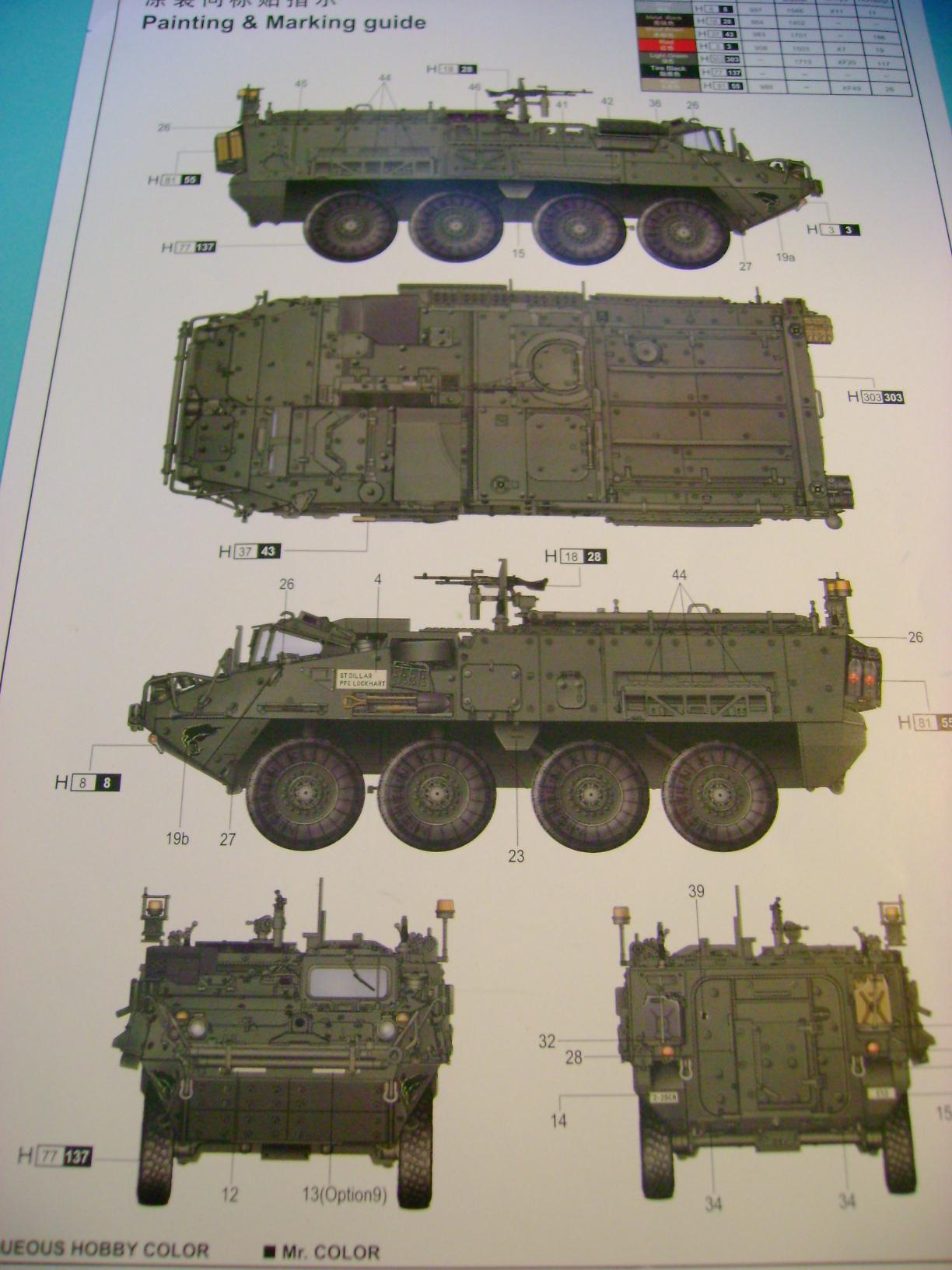 Review Kit M1129 Stryker Mortar Carrier Vehicle MC-B Trumpeter 1/35... Dsc02270j