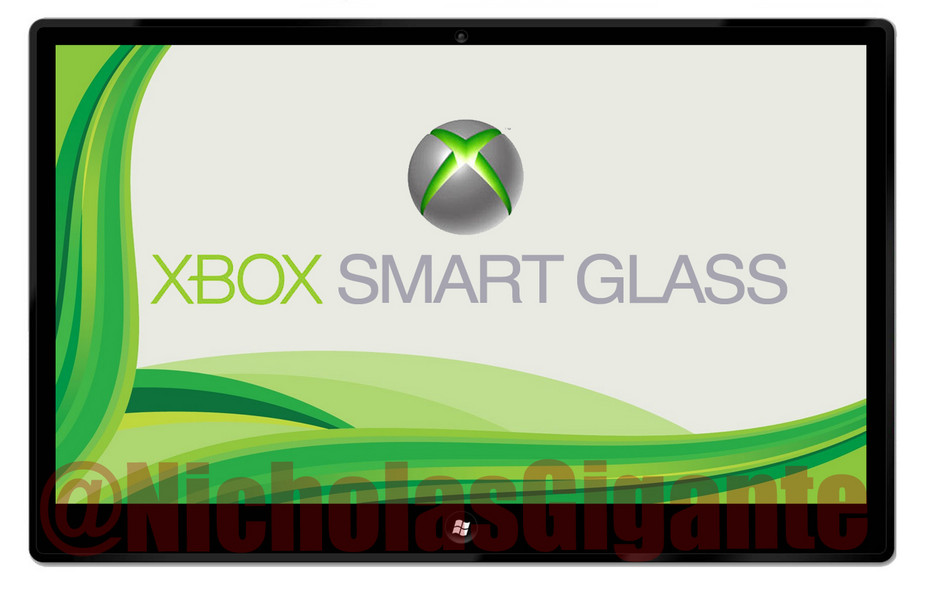 Tablette Xbox Smart Glass de Microsoft Xboxsmartglass