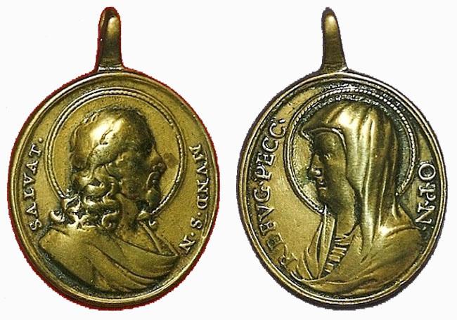 Recopilación medallas con el Rostro de Cristo ( Salvator Mvndi II) Imot