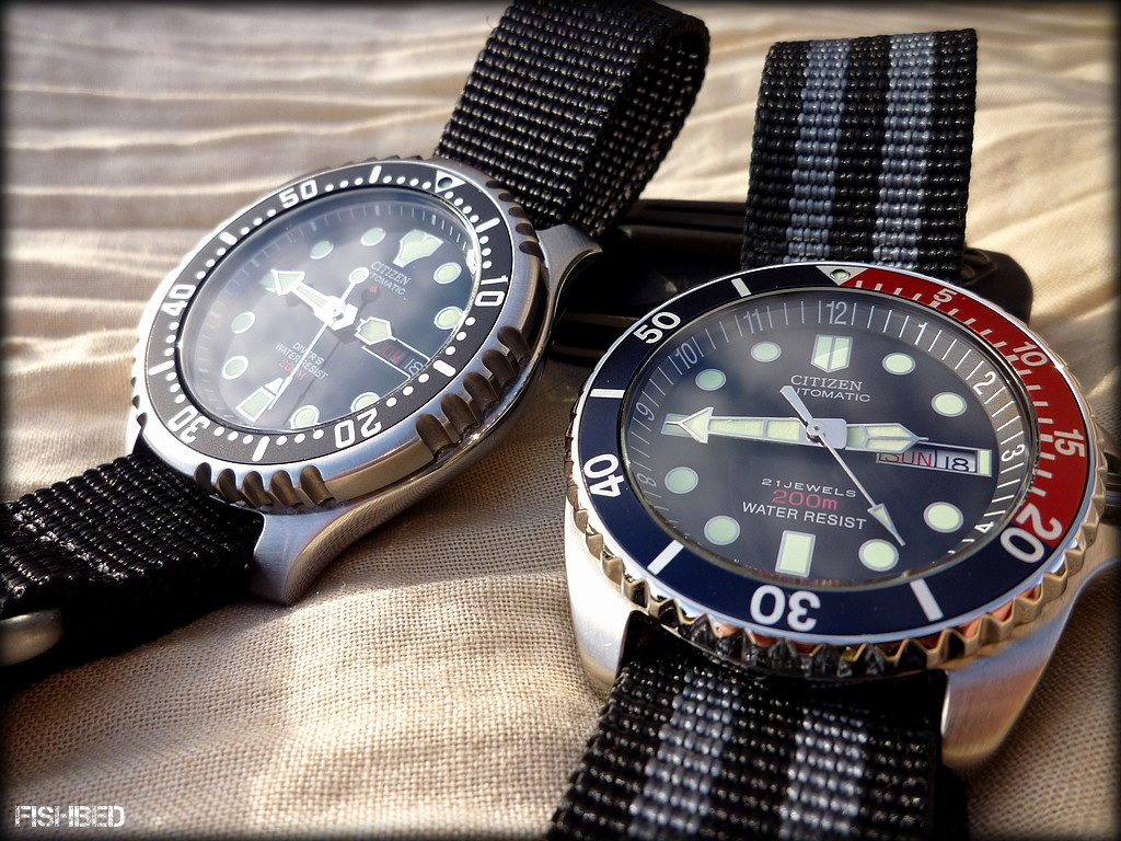 Plongeuses automatiques Citizen Citizendivers01