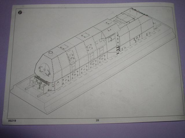 Review Kit German Panzerlok Baureine 57 Trumpeter 1/35 Pb020021