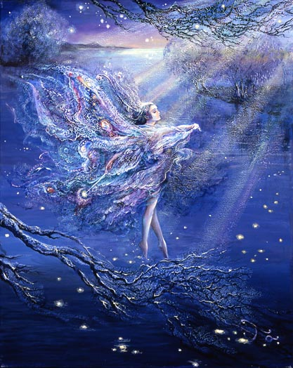 Josephine Wall Moonbeams