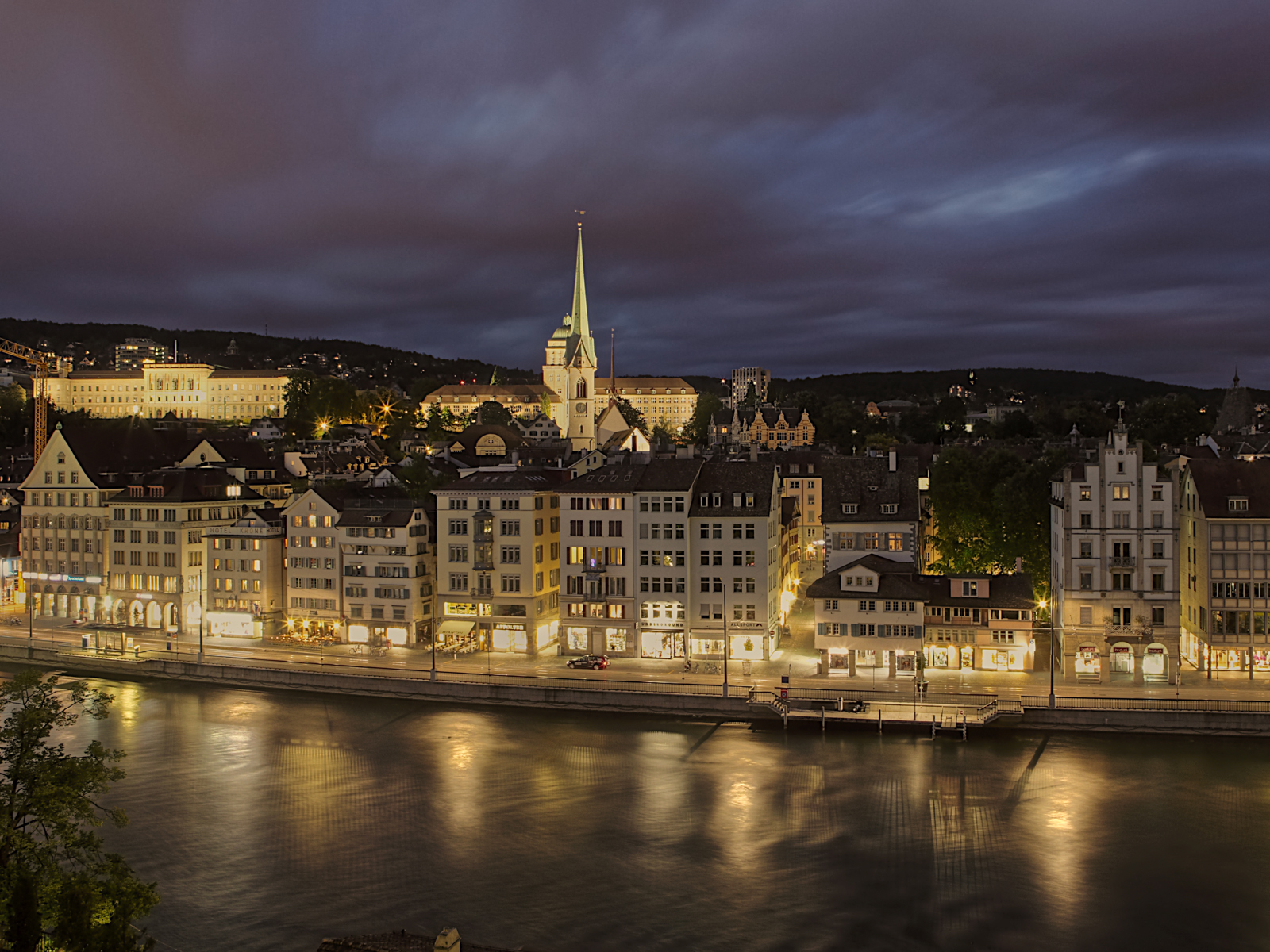 Amazing Cityscape Wallpapers 25zurich1600x1200