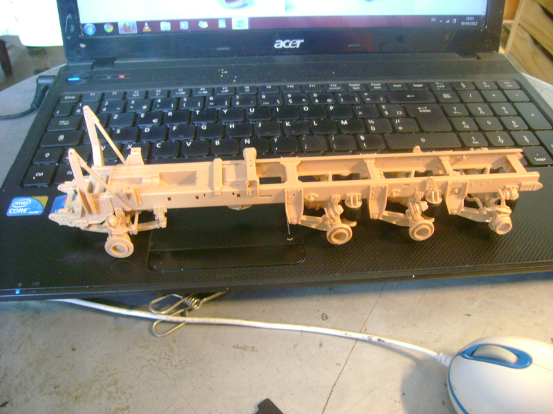 M1070 Truck Tractor & M1000 Semi-Trailer By T-bird!!!!! 1/35 Hobby Boss.Up du01/02.... 17463338