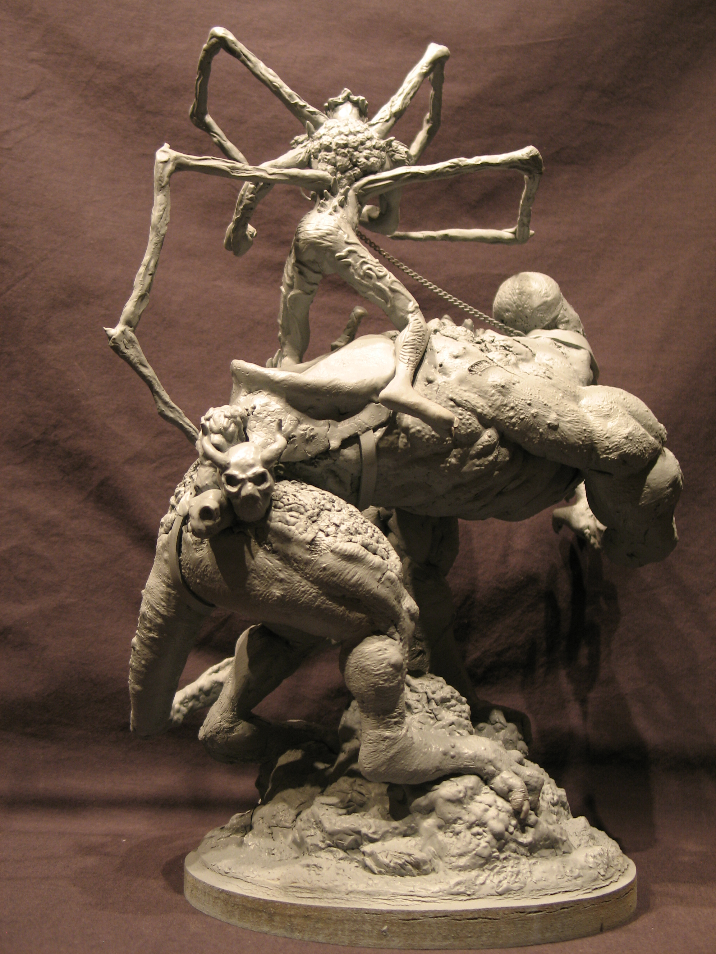 Spiderzero Riding the Shiflett Monster (Concours Shiflett 2) S143