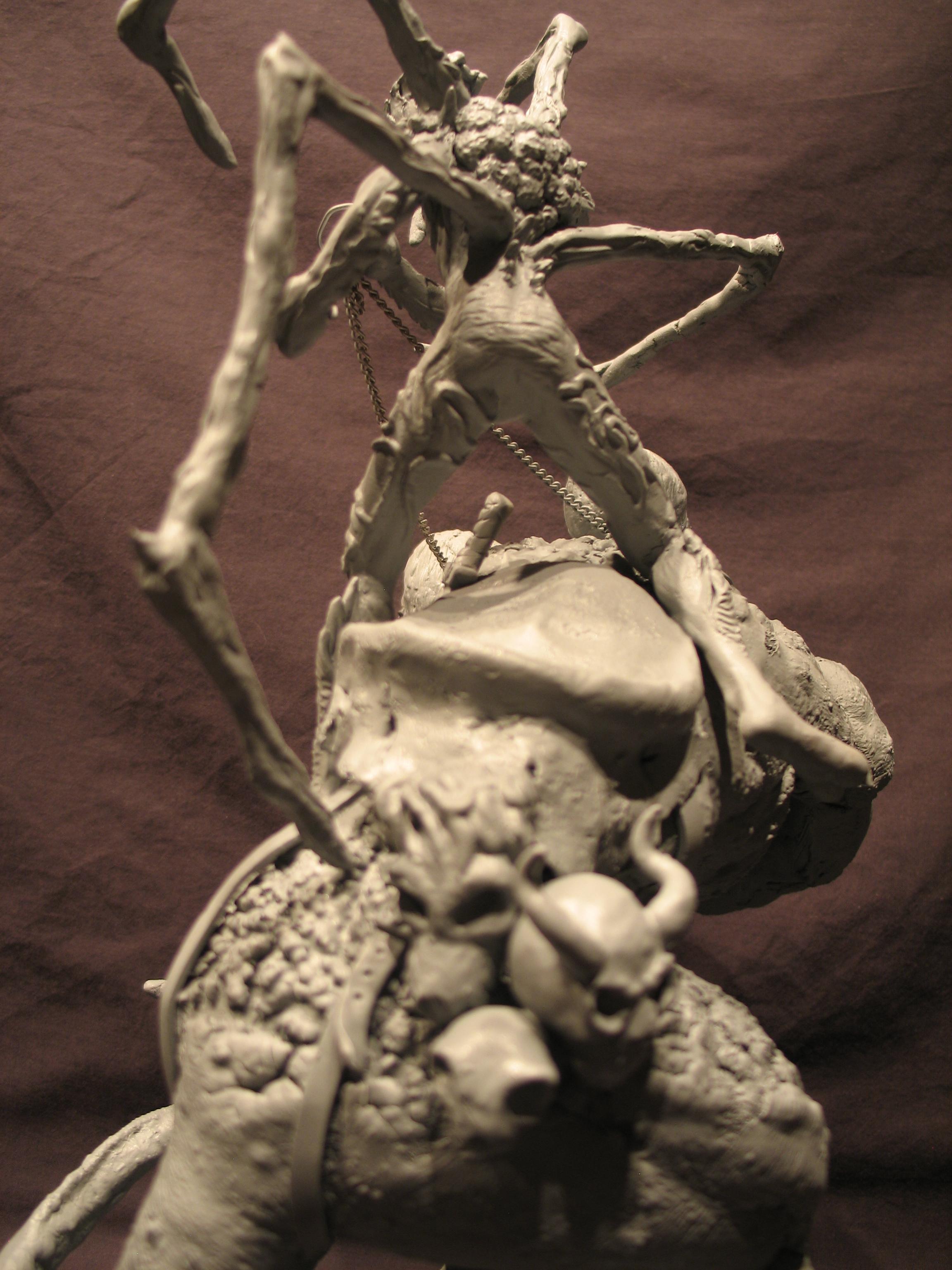 Spiderzero Riding the Shiflett Monster (Concours Shiflett 2) S181