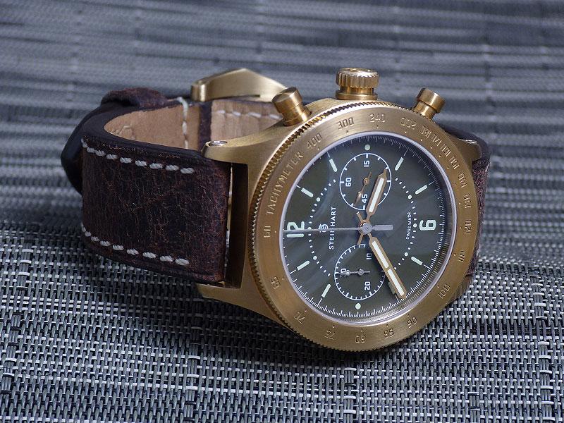 Ca me botterait bien une montre en bronze... Bronzo4401