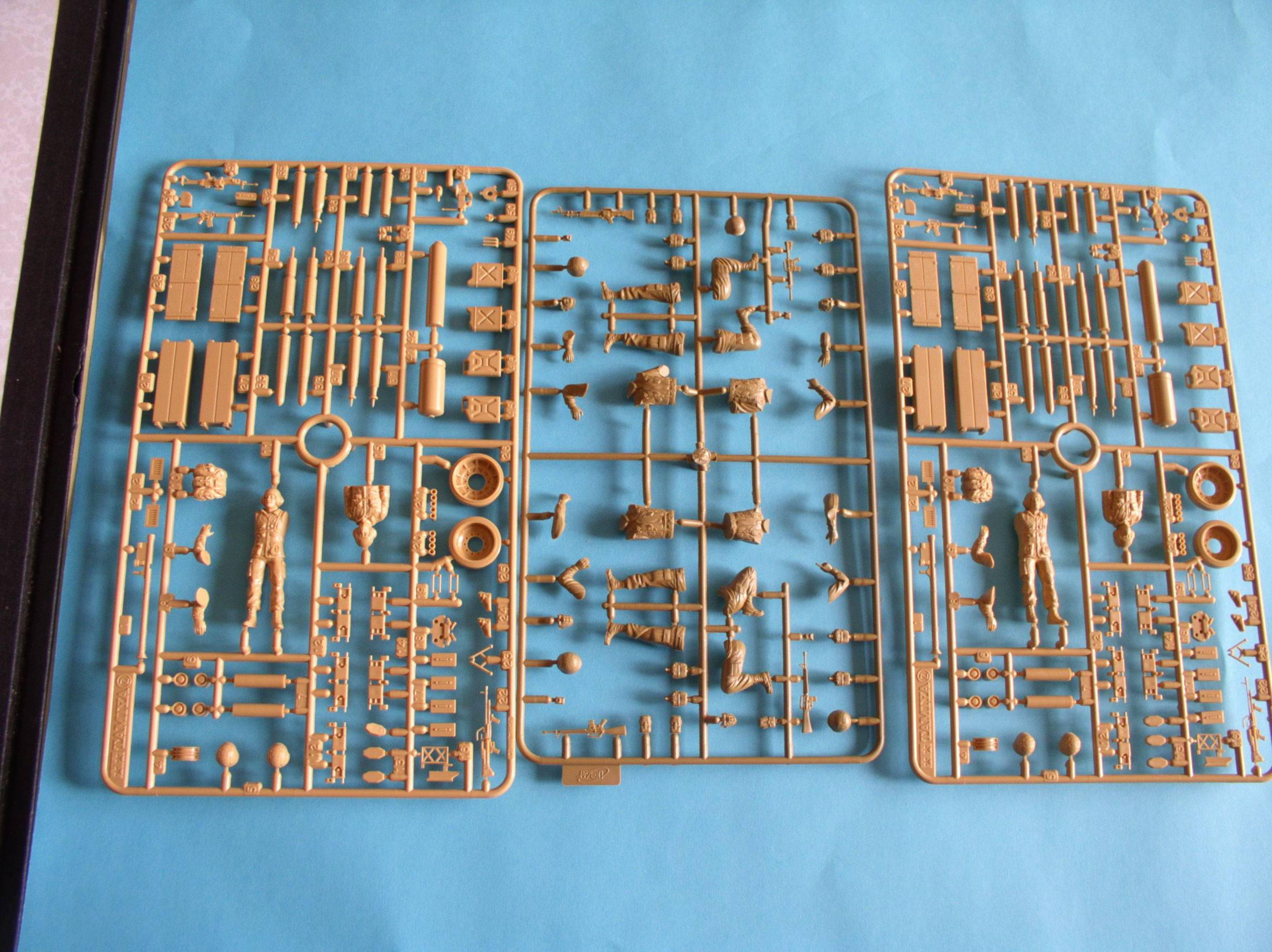 Review Kit US Modern Elite Infantry w/Accessory set 1/35 (Limited edition) 80324831