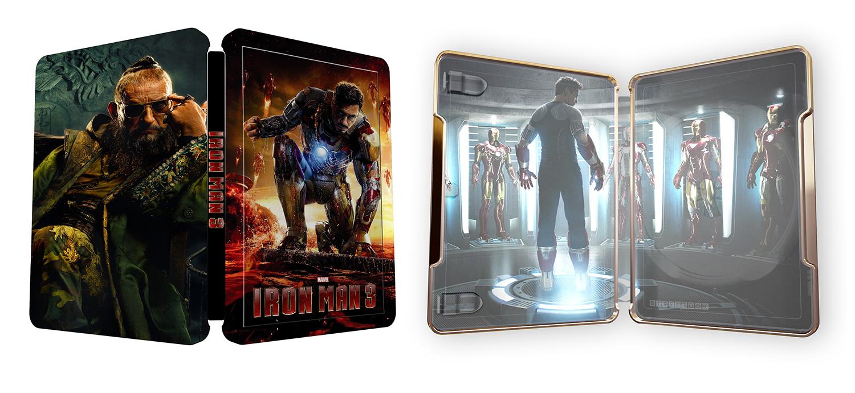 Iron Man 3  Im3steelbook