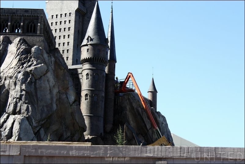 The wizarding world of hp construction pics Img7683