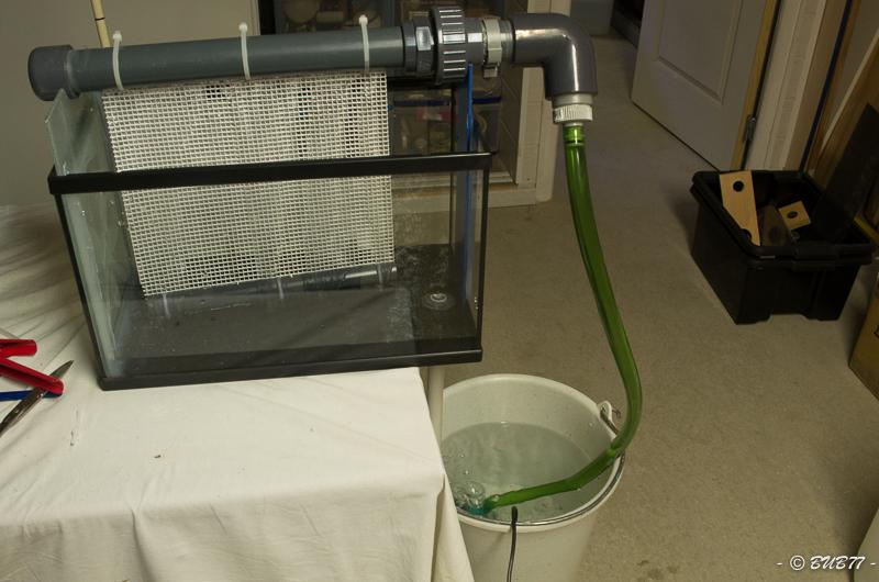 DIY - Fabrication d'un ATS Algae Turf Scrubber Qcvm