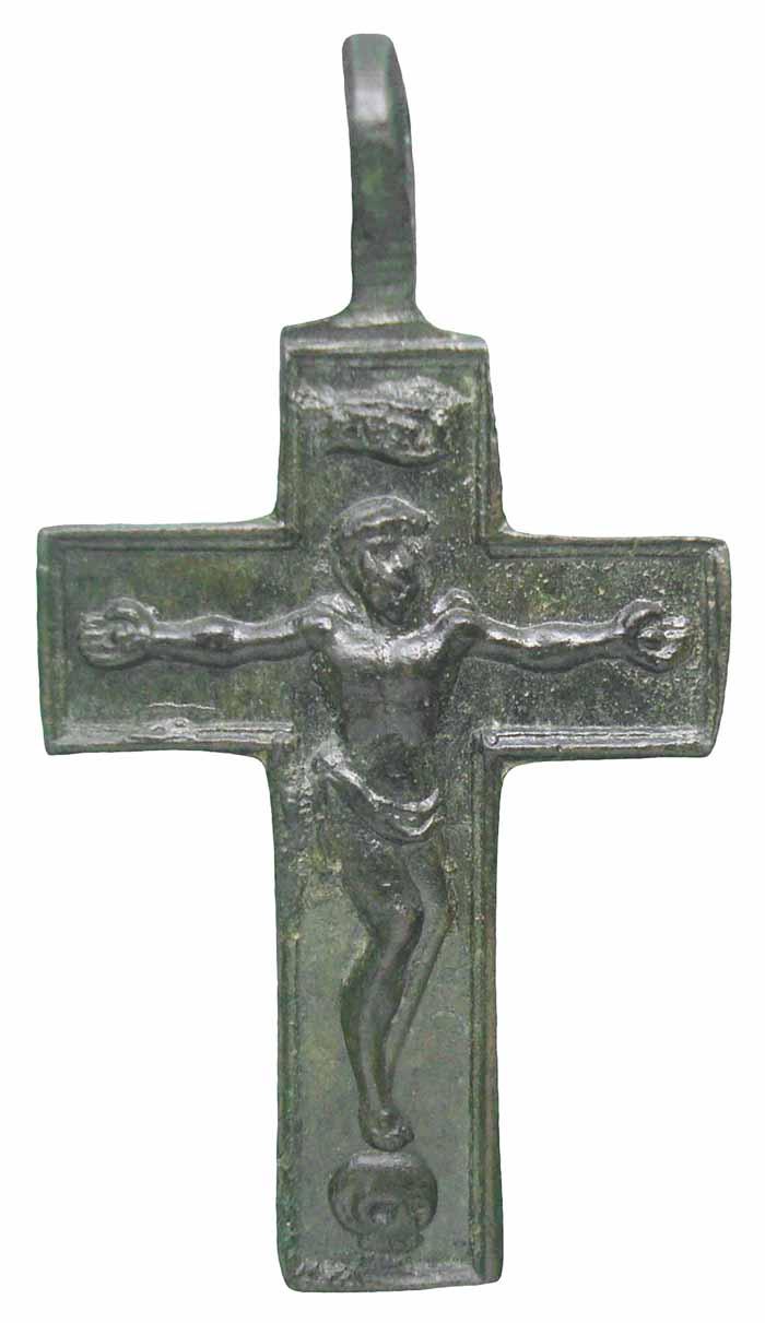 Cruz pectoral bifaz Inmaculada S-XVIII- CC-034 - [Pec029/S-XVIII]* Cc034b