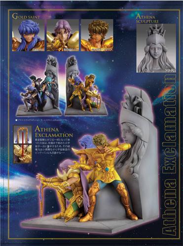 Statue Résine Saint Seiya: Athena Exclamation Attack Ap20100317054545997