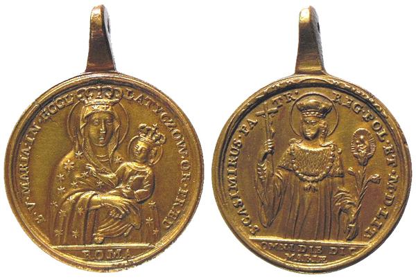 Medalla de N.S. de Czestochowa S. XX (MAM) Casimirodepolonialatycz