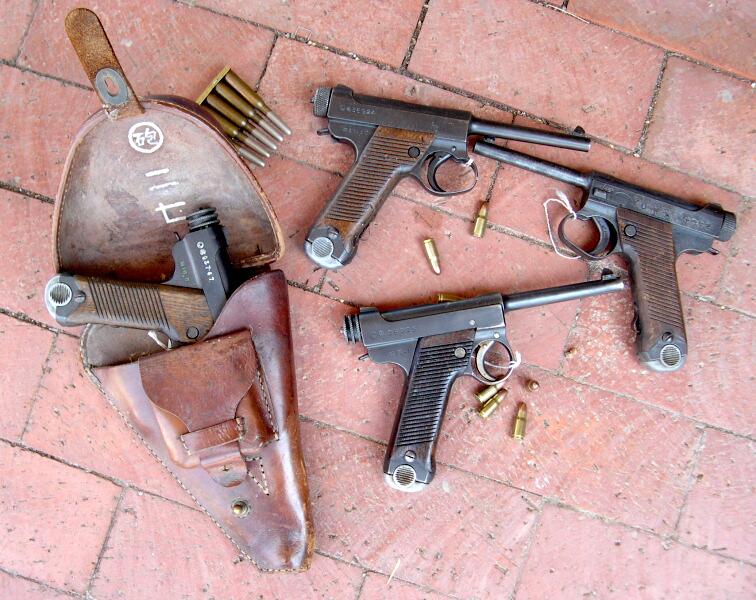 Pistolet Nambu Nam2h