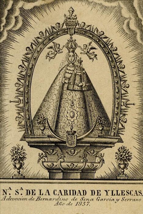 Medalla calada Virgen de La Caridad de Illescas (R.M. PFV Caridad de Illescas 1) (MAM) Caridaddeillescasaytole