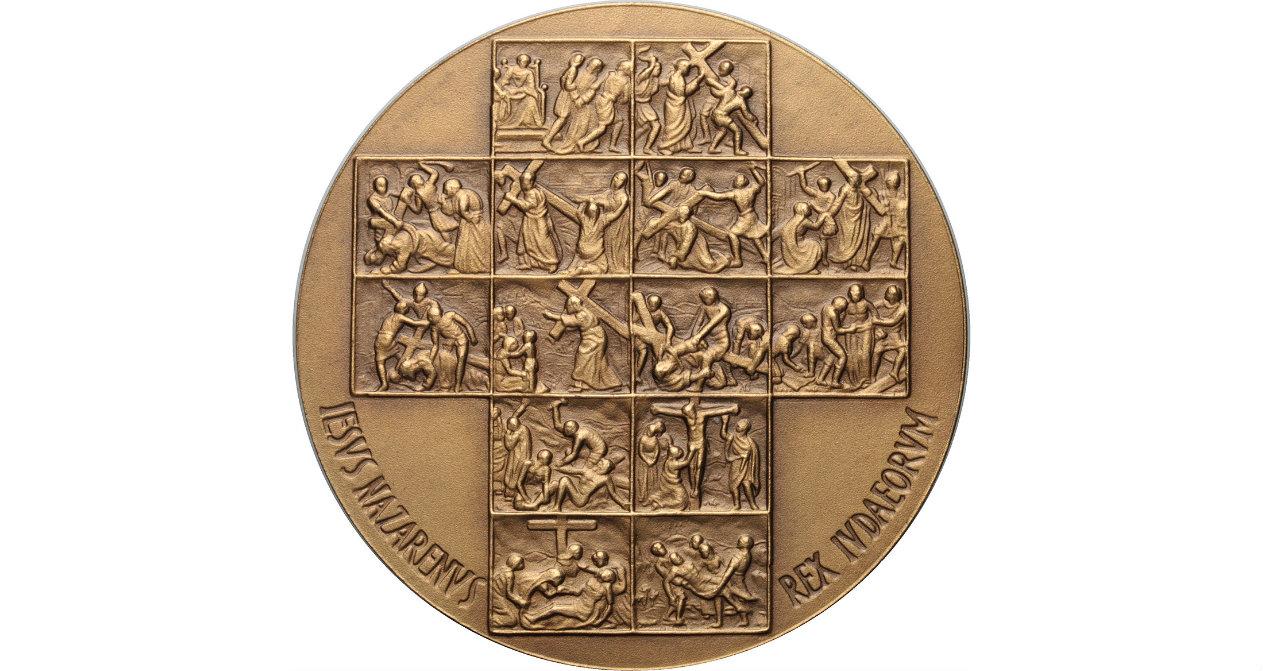 Crucifixión - Via Crucis. S. XVIII (R.M. SXVIII-O225 y 226) Nixr