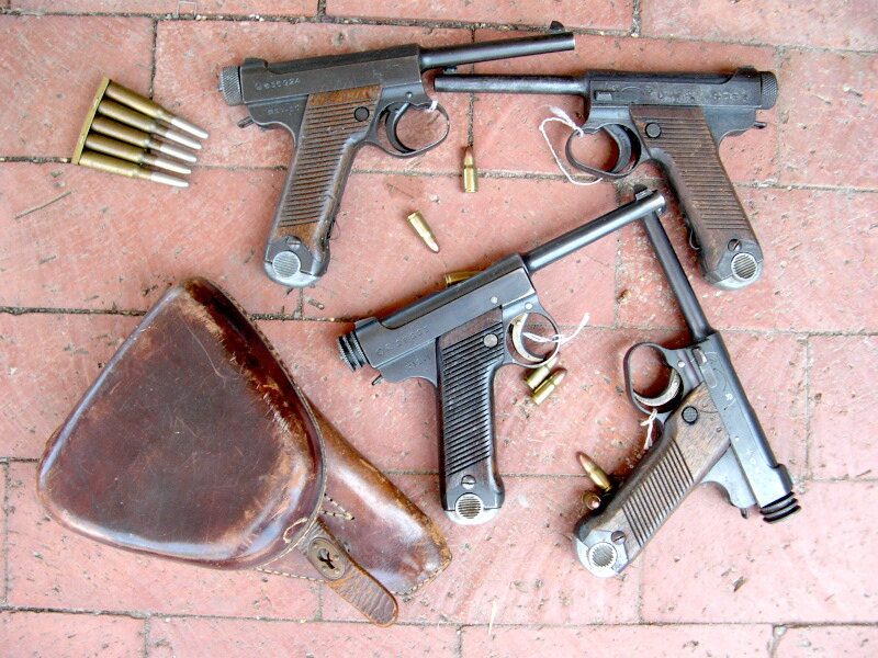 Pistolet Nambu Nam1e